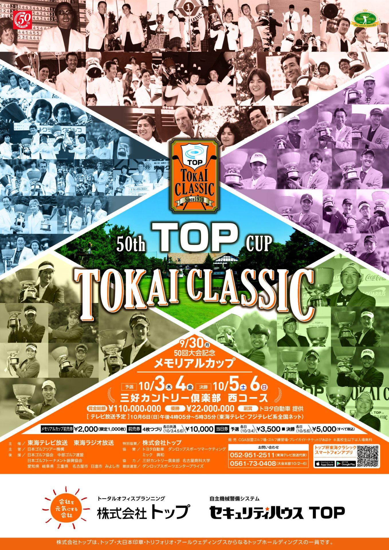 トップ 杯 東海 クラシック 2019